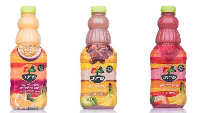 סדרת השייקים של פריניב על בסיס פרי הבננה