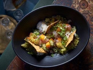 טרטר דג של מסעדת דלידה במסעדת כפרה בבאר שבע, צילום: אנטולי מיכאלו