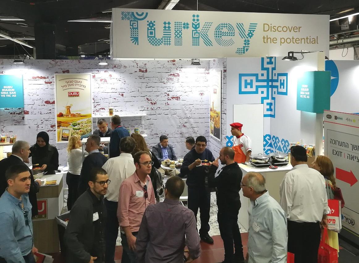 הביתן הטורקי בתערוכה, צילומים: סיון פרג'