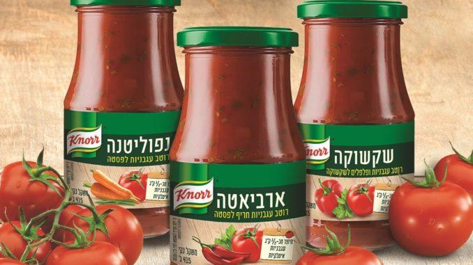 קנור - סדרת רטבי העגבניות
