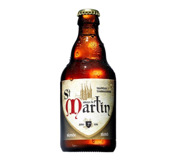 בירה סן מרטין בלונדי ממבשלת ברונהאוט, צלם אסף לוי