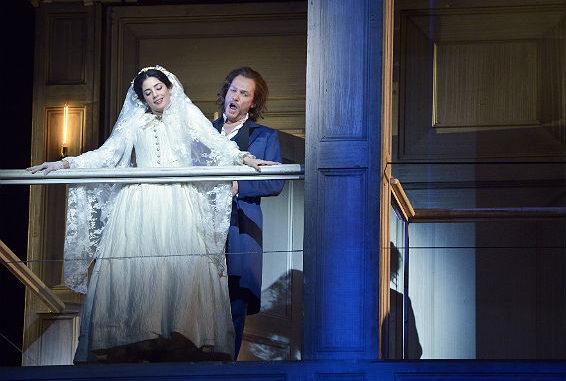 האופרה דון ג'ובני. צילום: יוסי צבקר