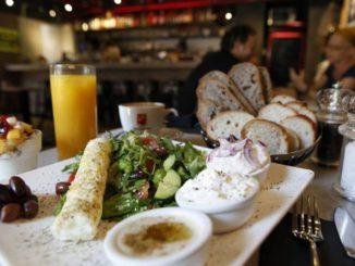 ארוחה צמחונית במלון דיאגילב. צילום: אתר המלון