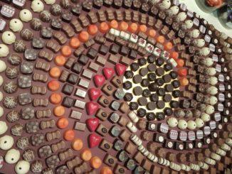 """עולם הממתקים של גילרו בתערוכת ISM. צילום: יח""""צ"""