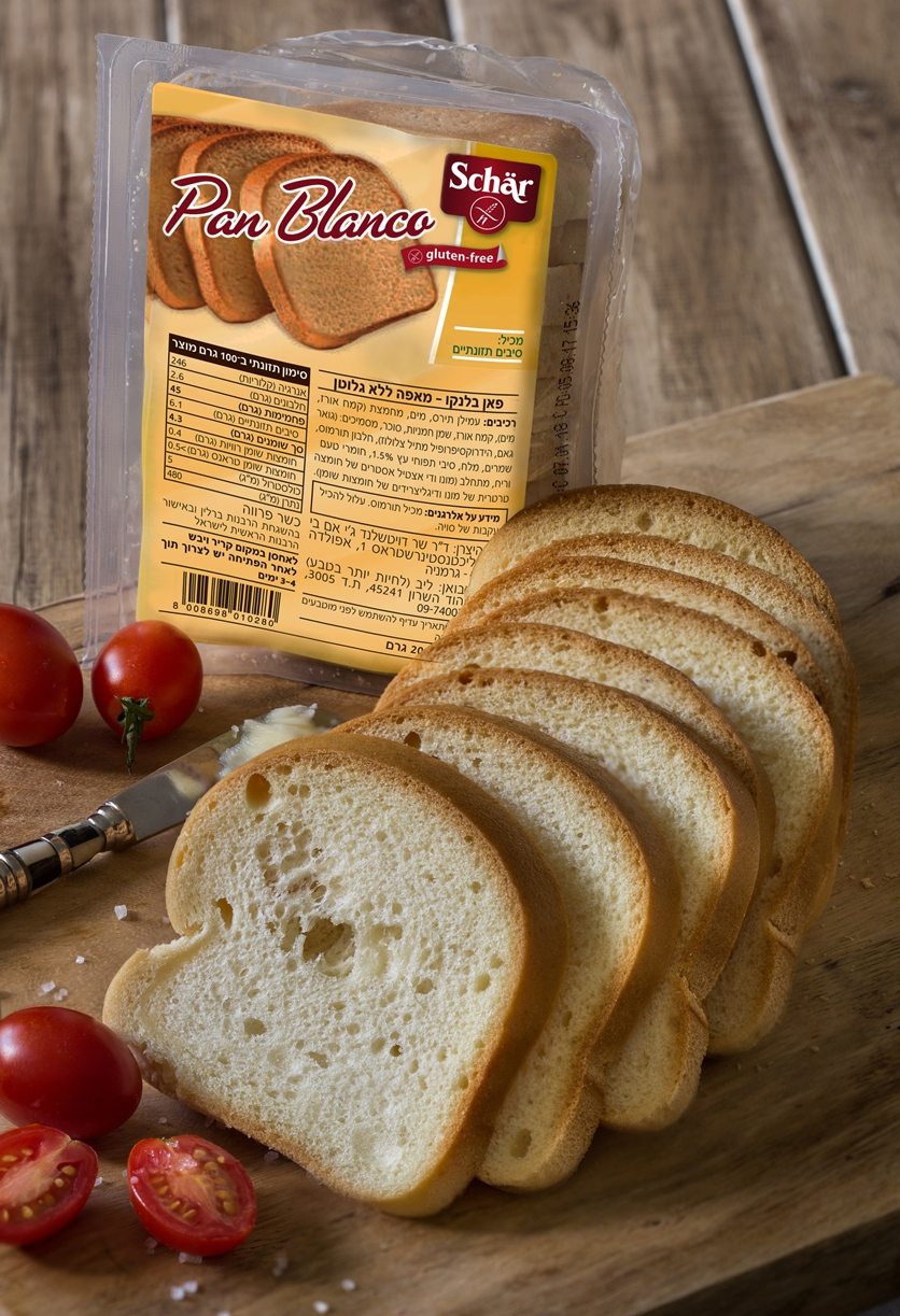 פאן בלנקו - לחם לבן ללא גלוטן