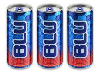 """משקה אנרגיה blu כשר לפסח. צילום: יח""""צ"""