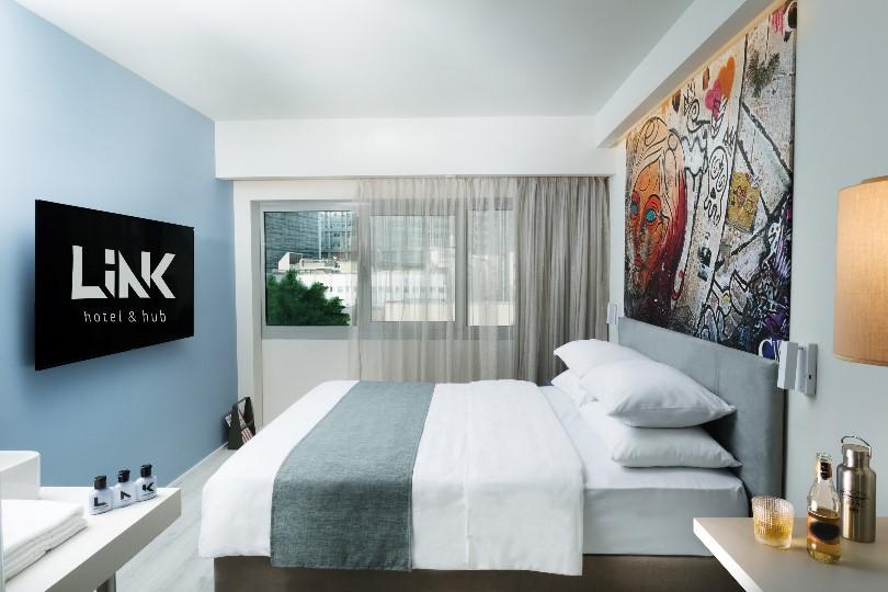 חדר במלון LINK hotel hub