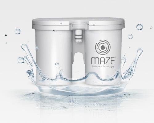 """maze - מטהר המים החדש. צילום: יח""""צ"""