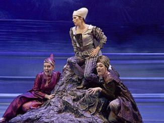 יקבי בנימינה מעניקים חסות לאופרה הישראלית. בתמונה דידו ואניאס. מקור תמונה אתר האופרה הישראלית