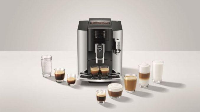 """מכונת הקפה JURA S8. צילום יח""""צ"""