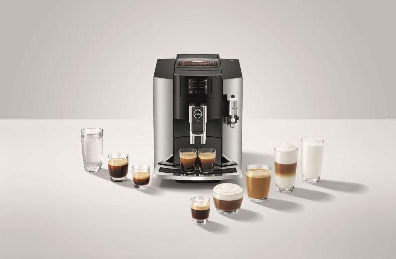 """מכונת הקפה - JURA S8. צילום יח""""צ"""