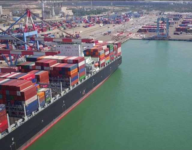 """נמל אשדוד. צילום:  יח""""צ"""