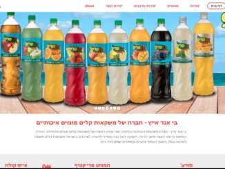 אתר בי אנד אייץ. צילום מסך