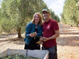 ורד וארז בן סעדון בכרמי הזיתים. צילום: מיכל מרקוביץ