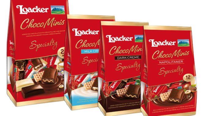 """לואקר חטיפי מיני שוקולד. צילום: יח""""צ"""