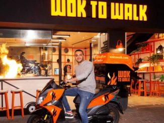 """wok to walk משיקה שירות משלוחים חדש. צילום: יח""""צ"""