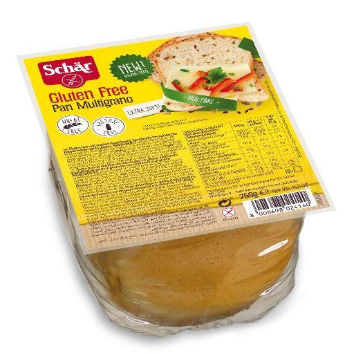 """לחם טרי ללא גלוטן פאן מולטיגרנו של שר. צילום: יח""""צ"""
