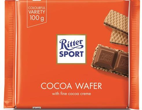 """cocoa wafer של ריטר ספורט. צילום: יח""""צ חו""""ל"""