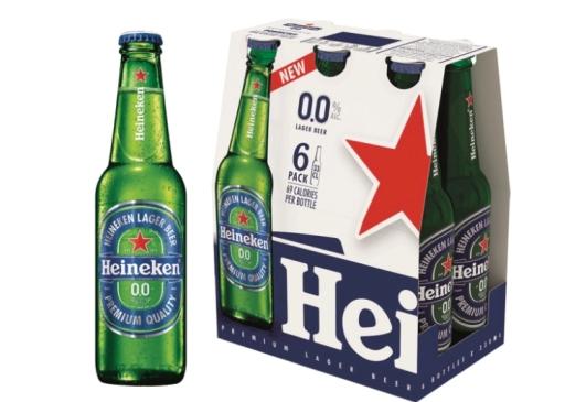 בין זוכי מוצר השנה 2019 בירה היינקן 0%