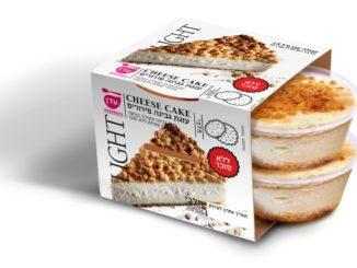 """קינוחי עדן - עוגת גבינה פירורים ללא סוכר. צילום: יח""""צ"""