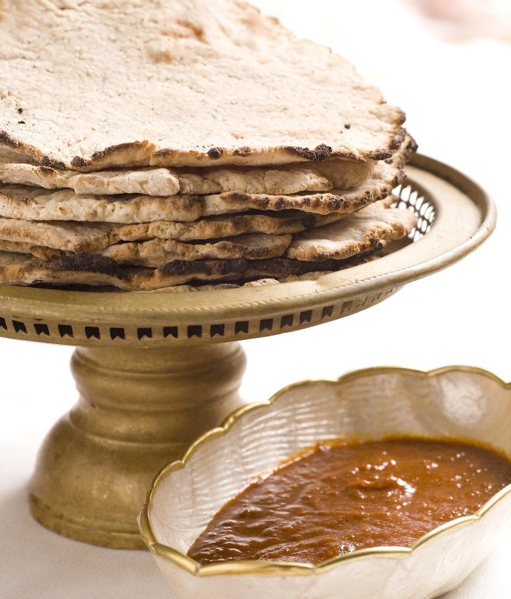 רוטי - מצה הודית לחג הפסח